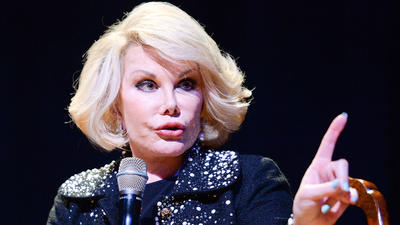 Joan Rivers hospitalized in NYC