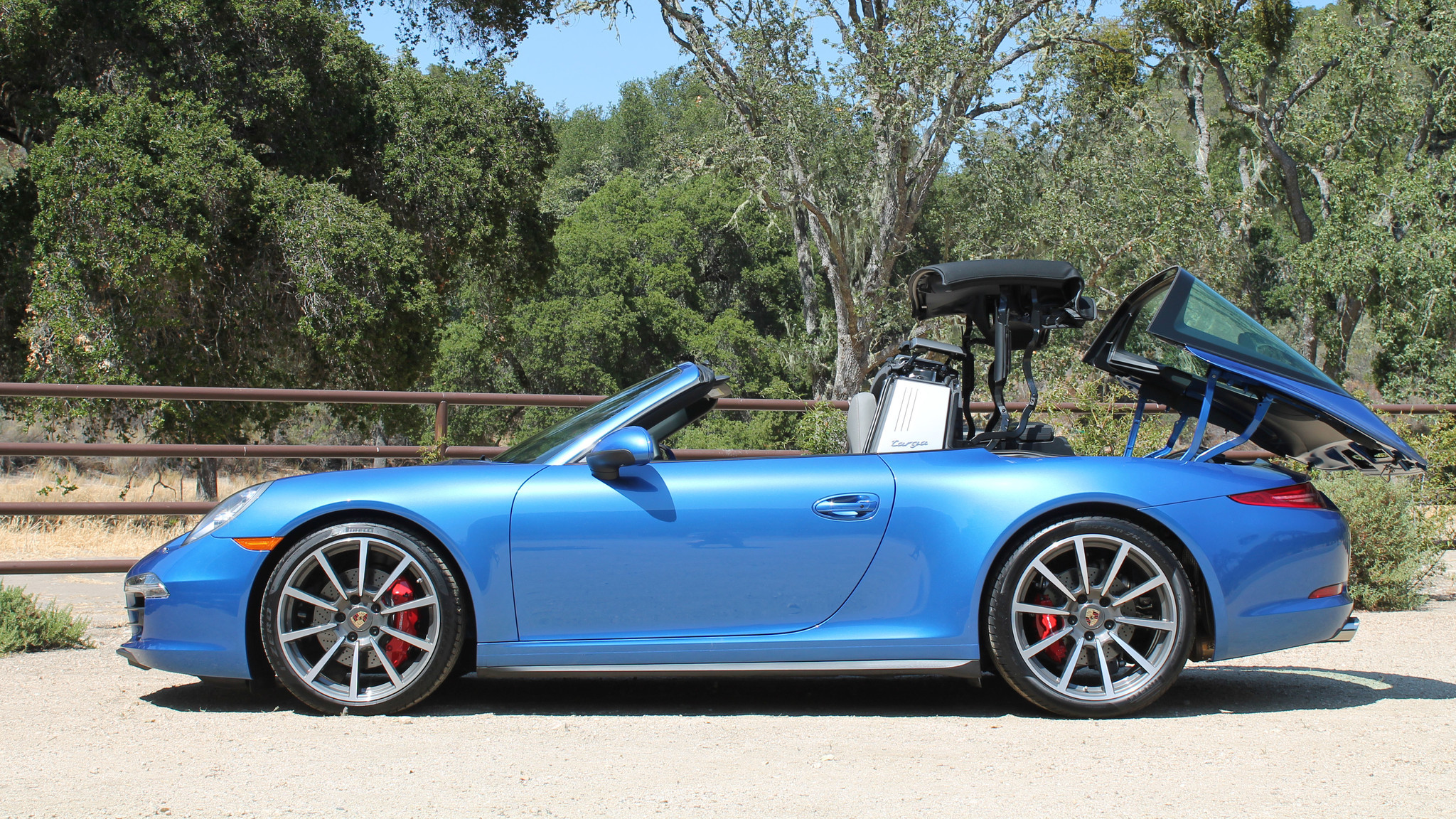review removable roof on porsche 911 targa 4s offers california