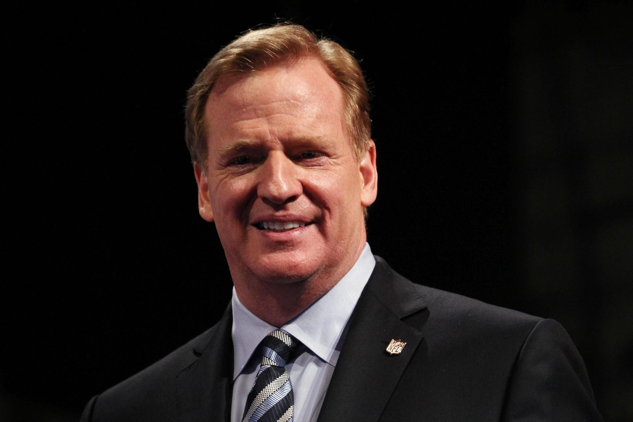 NFL Commissioner Roger Goodell is getting tougher on domestic violence.