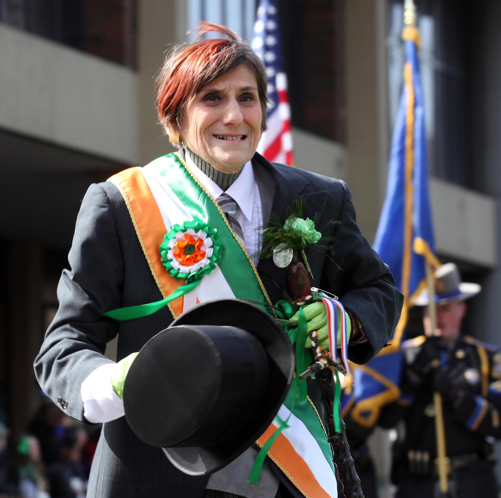 Twelve-term U.S. Rep. Rosa DeLauro, D-3rd District, is seen earlier this year at the New Haven St. Patrick's Day Parade.