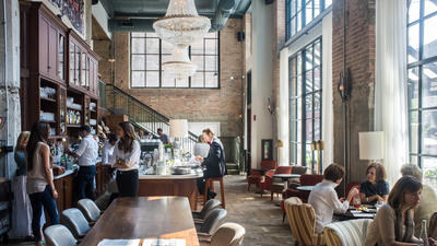 Inside Soho House's public restaurants: Pizza East, Chicken Shop and The Allis