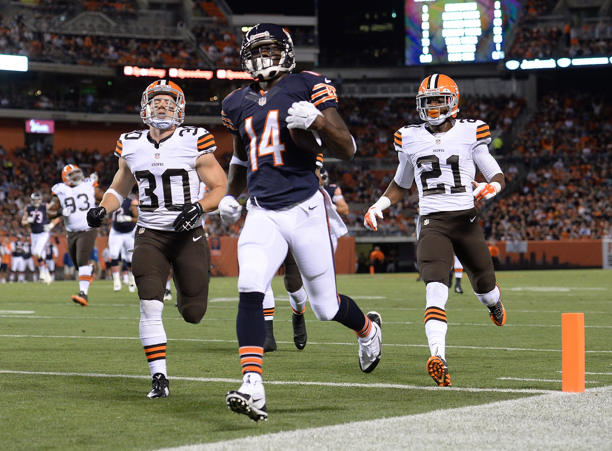 With starters resting, Bears lose 33-13 to Browns