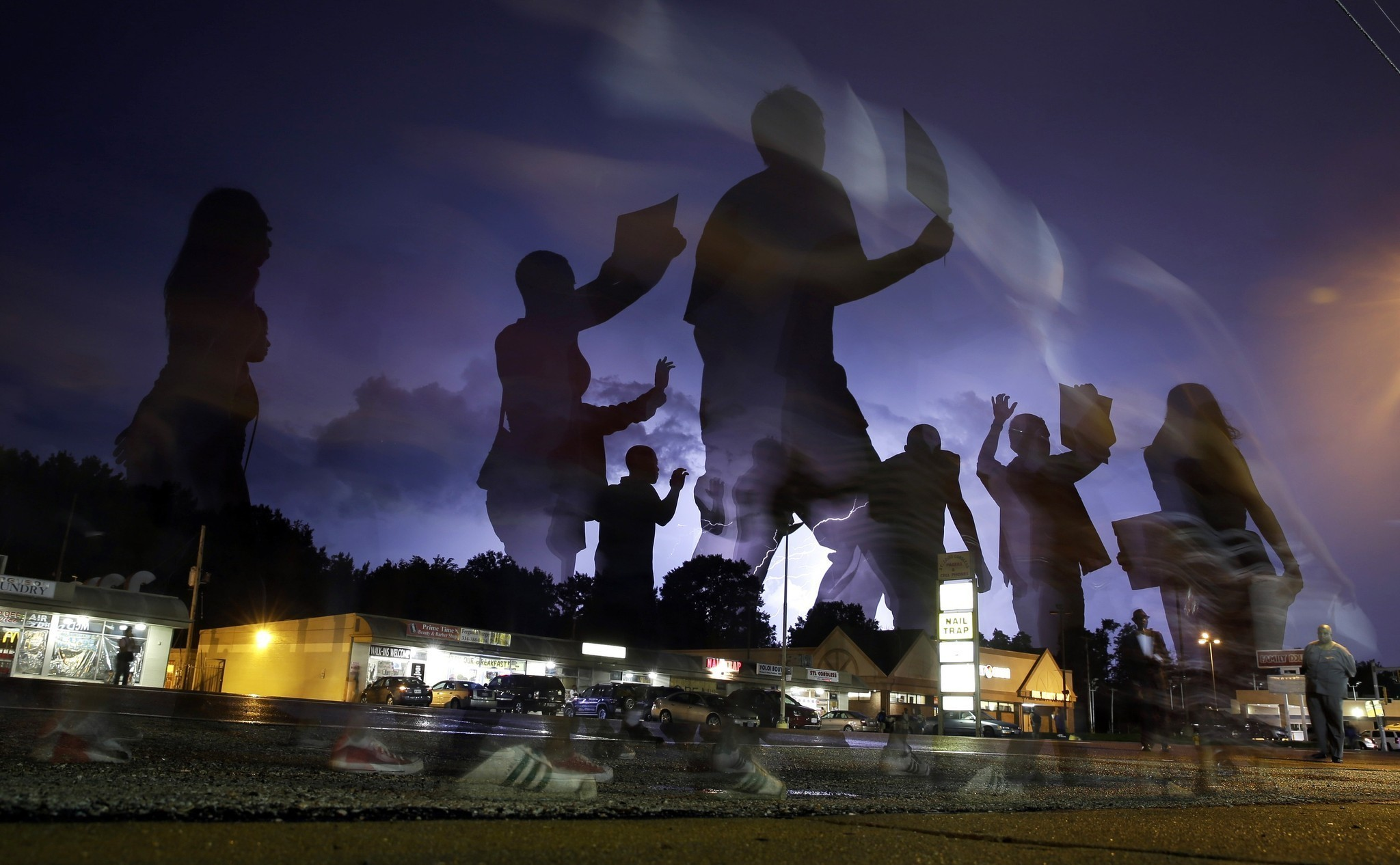 Missouri residents sue police over use of force in Ferguson protests