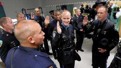 Police Academy graduates eight bound for Carroll agencies