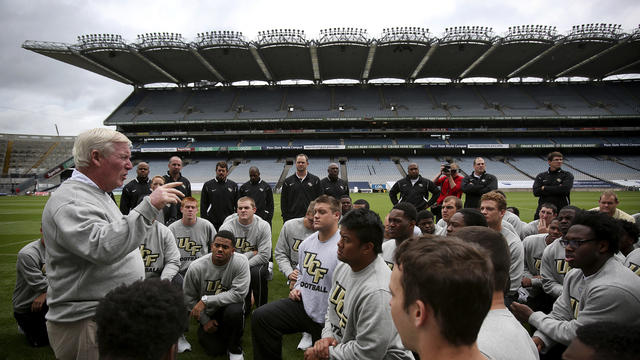 Video: UCF in Ireland: Bianchi and Green from Croke Park