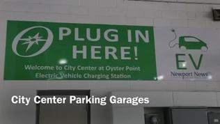 Electric Charging Stations at Oyster Point