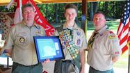 Marken becomes Eagle Scout