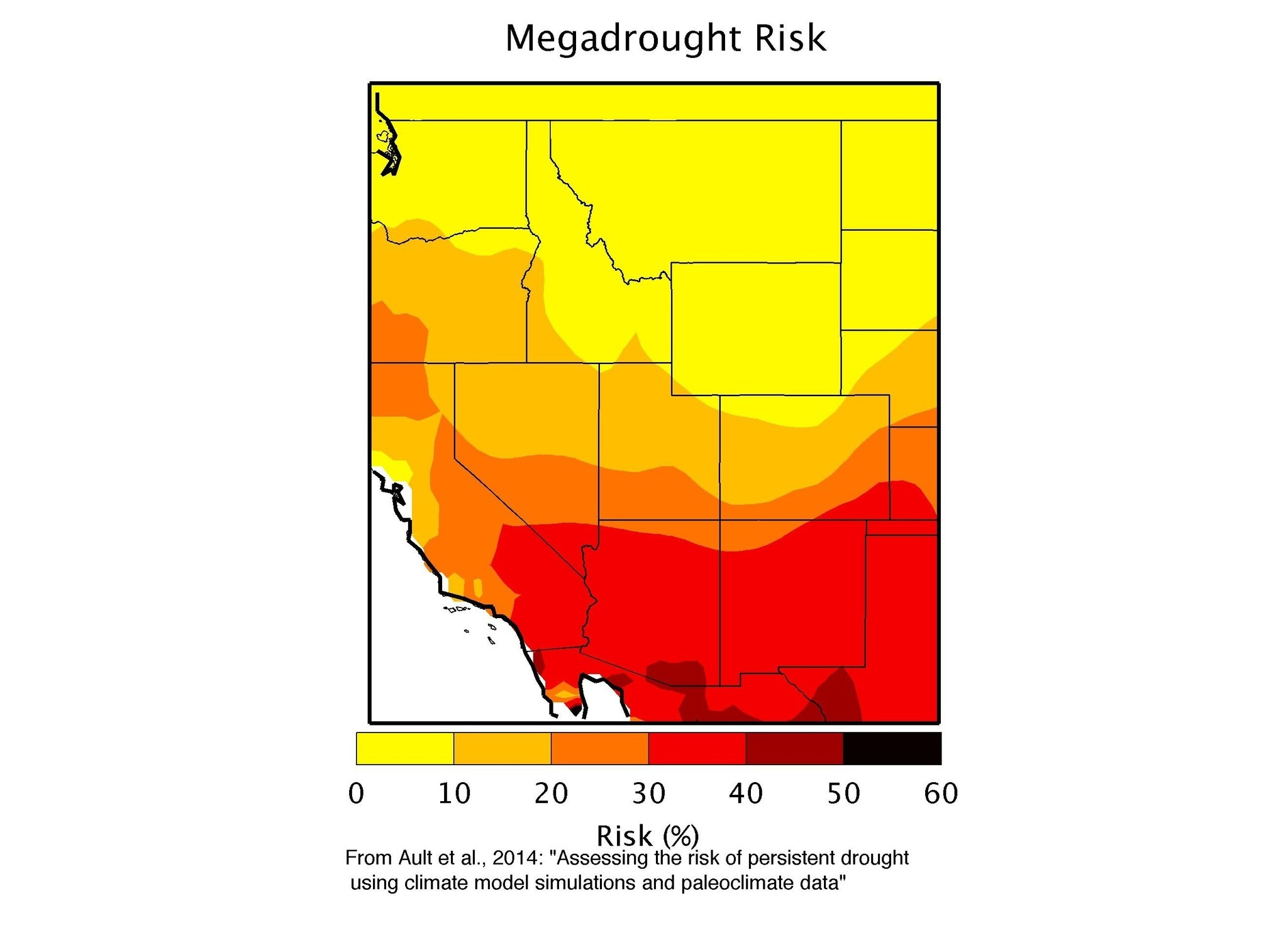 Chance of 'megadrought' in U.S. Southwest now 50%, study concludes
