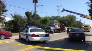 Video: Industrial accident iin Newport News