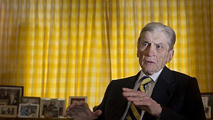 Video: Former U.S. Sen. John Warner discusses submarine christening
