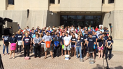 Video: UConn Medical Students & Faculty Take On ALS Ice Bucket Challenge