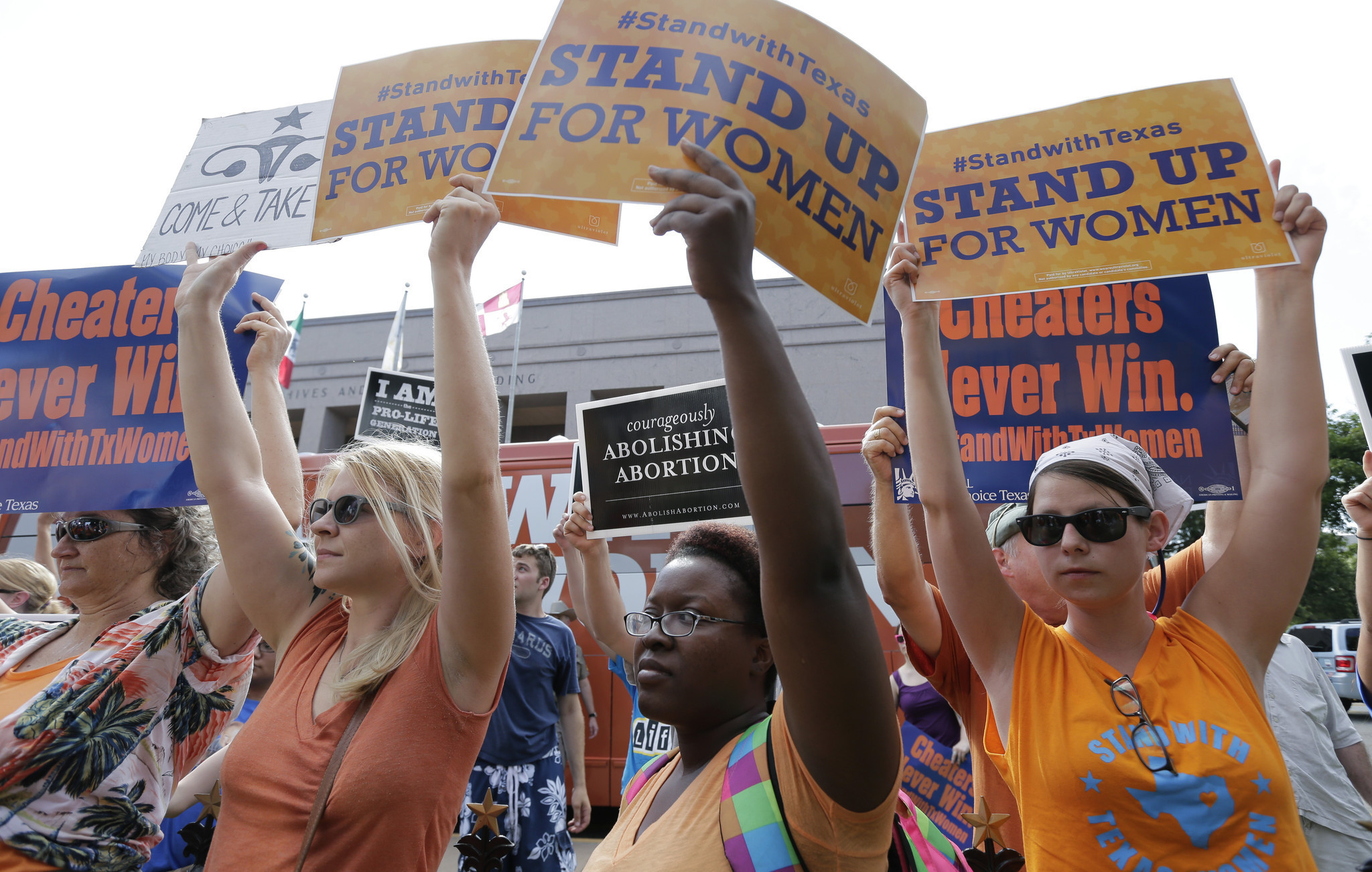 Federal judge strikes down key part of restrictive Texas abortion law