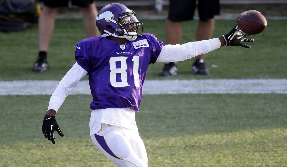 Vikings receiver Jerome Simpson suspended for three games by NFL