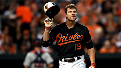 Struggling Chris Davis comes through in grand fashion for Orioles in 9-1 win over Twins