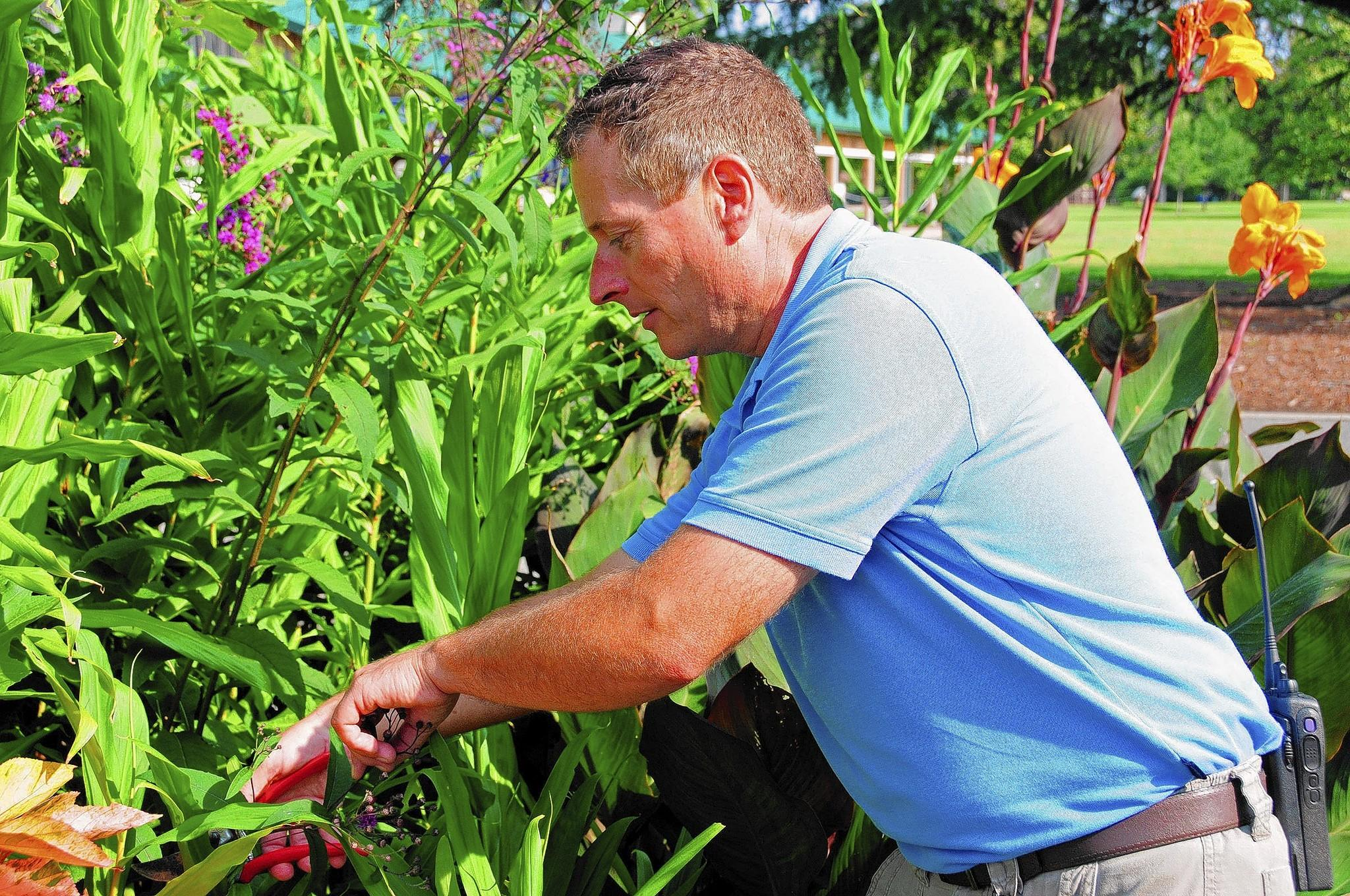 Brian Francis is the new curator of horticulture for the Virginia Zoo in Norfolk.