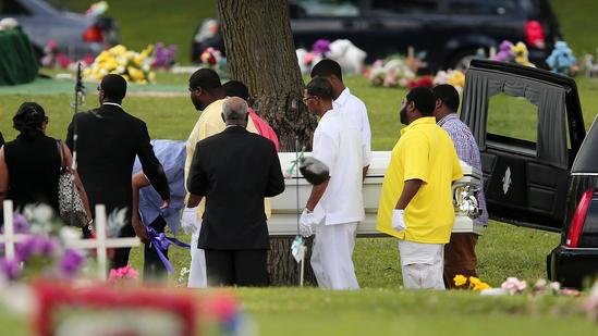 Funeral for Antonio Smith