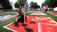 The Monument Quilt serves as remembrance, strength for sexual abuse survivors