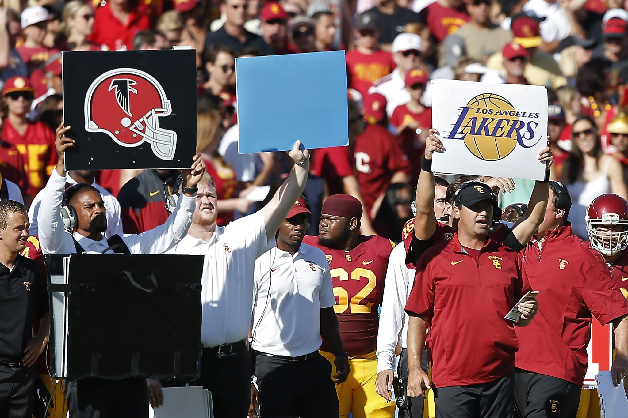 USC opener is a Sark easy one for new coach