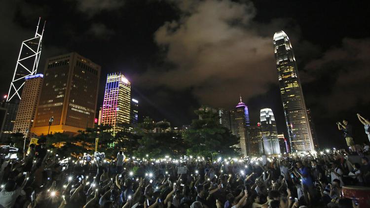 Hong Kong pro-democracy rally