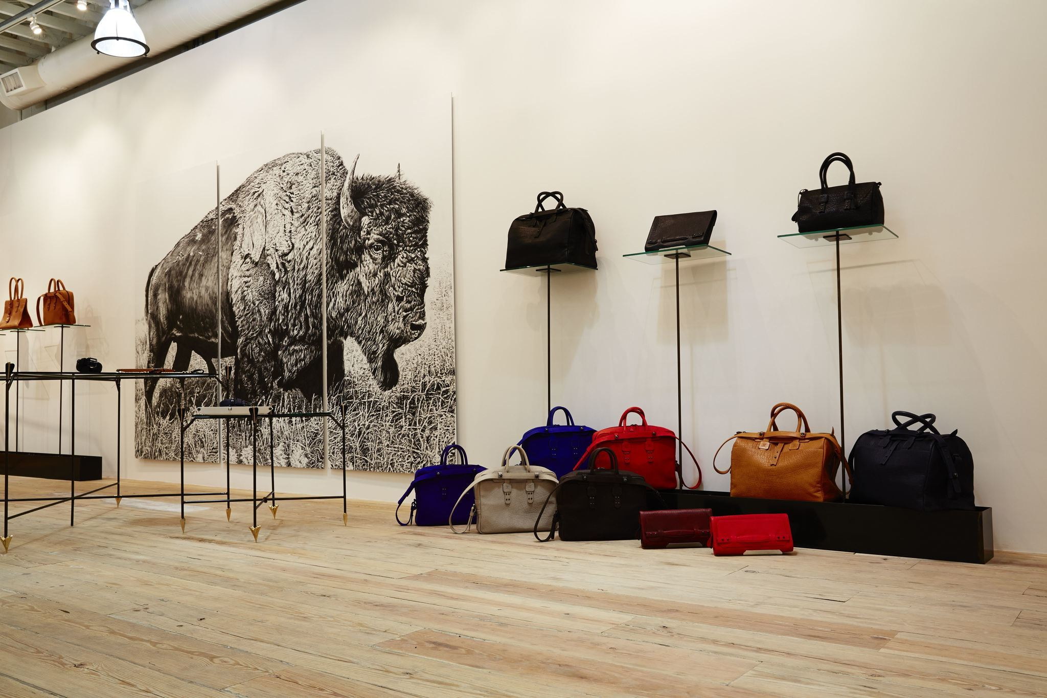 Luxe bag brand Parabellum opens a flagship store on Melrose Avenue ...