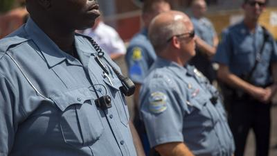 Ferguson police now wear body cameras