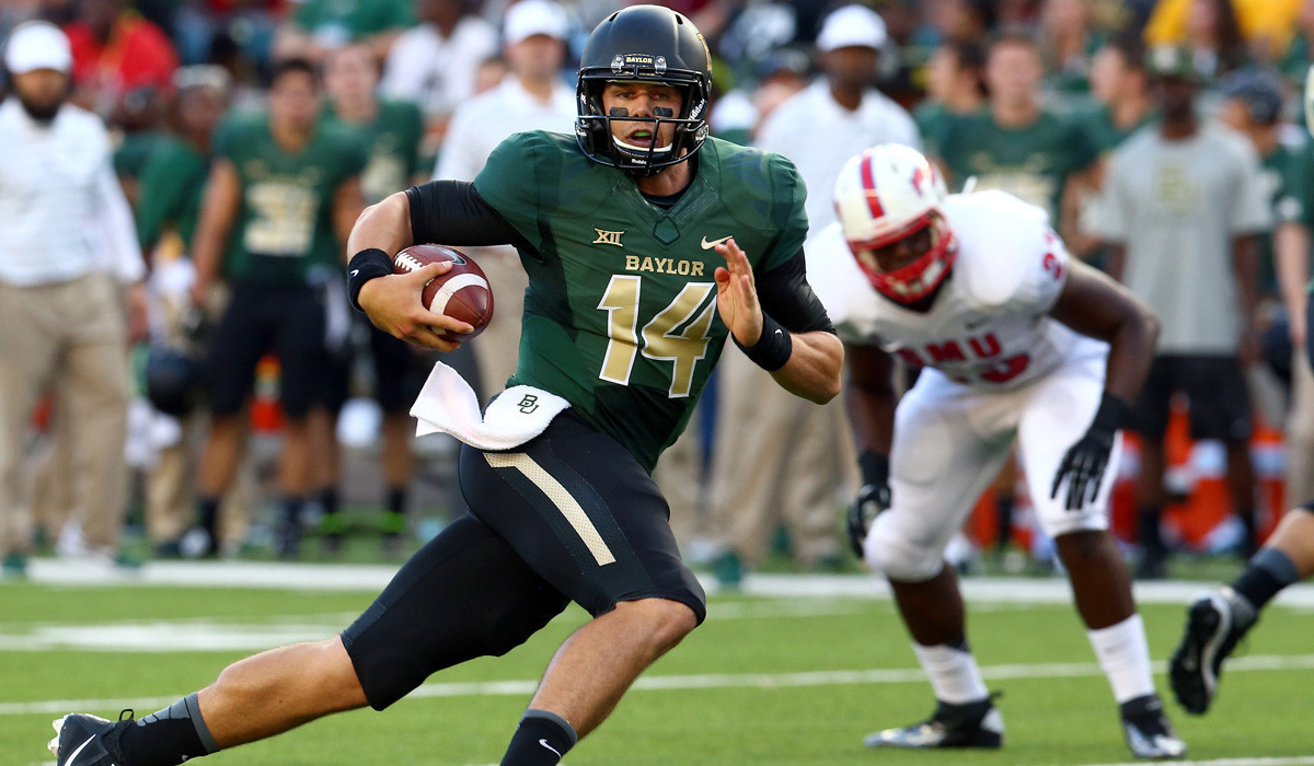 Baylor crushes Southern Methodist, 45-0, behind Bryce Petty
