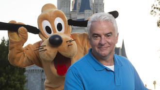 Disney goes to the dogs for early morning event