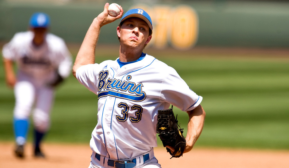 Another former UCLA pitcher, Erik Goeddel, reaches major leagues