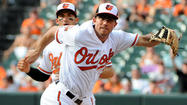 Orioles shortstop J.J. Hardy leaves Monday's game with lower back spasm