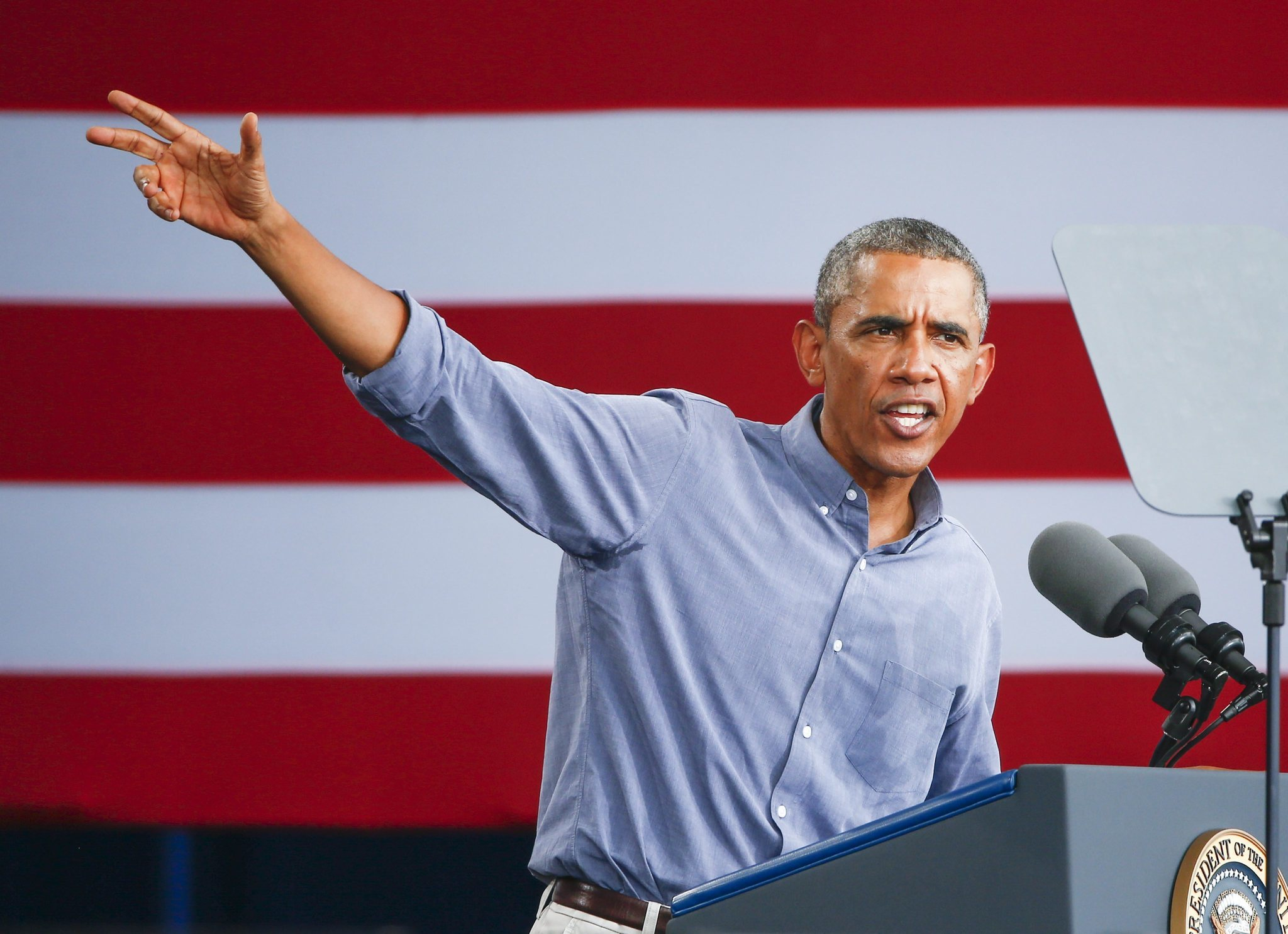 Obama tries to rekindle hope in Labor Day speech