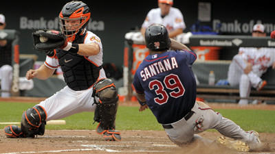 Orioles fail to complete four-game sweep with 6-4 loss to Twins on Monday