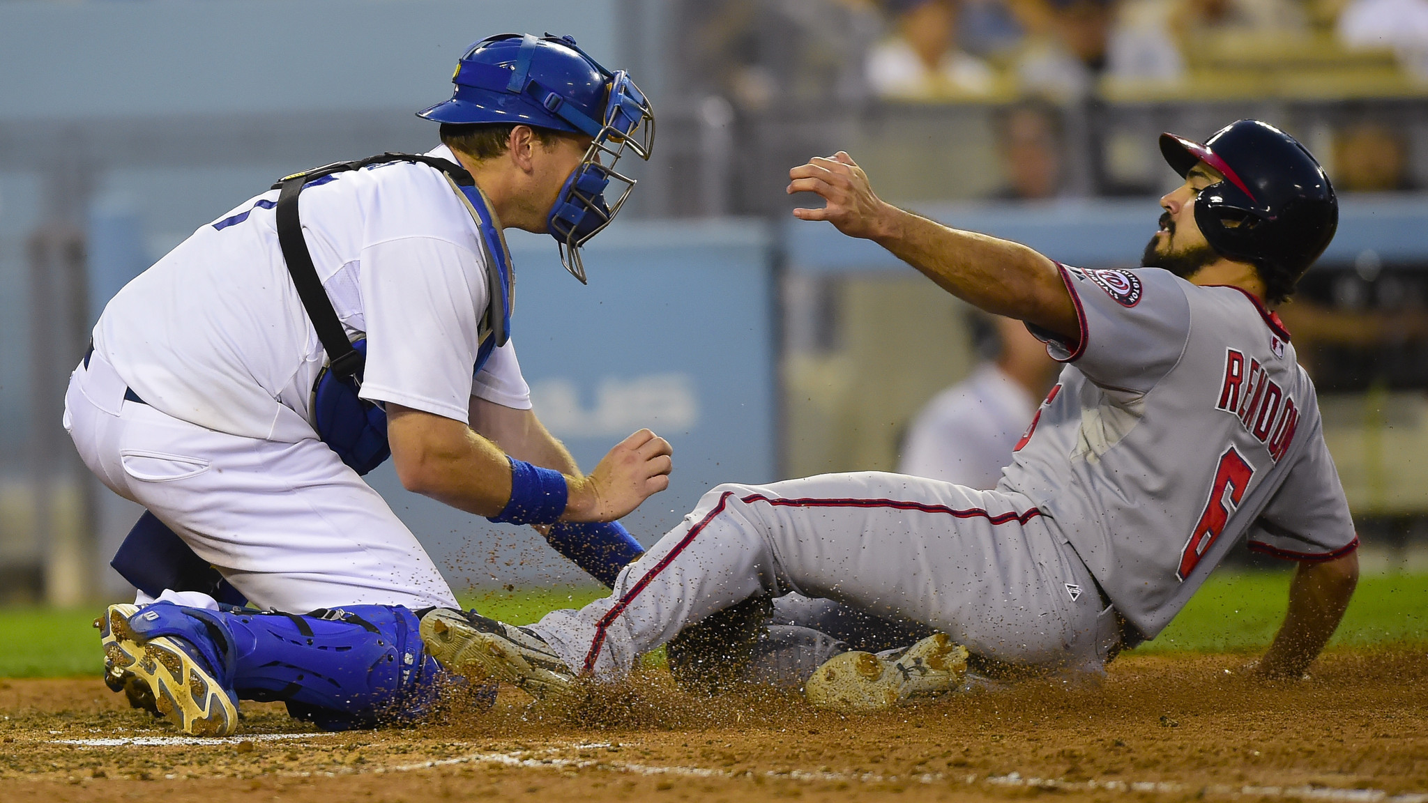 Dodgers can't keep up with Nationals in 6-4 loss