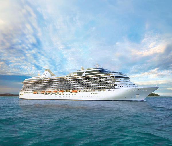 Oceania Cruises' Riviera ship