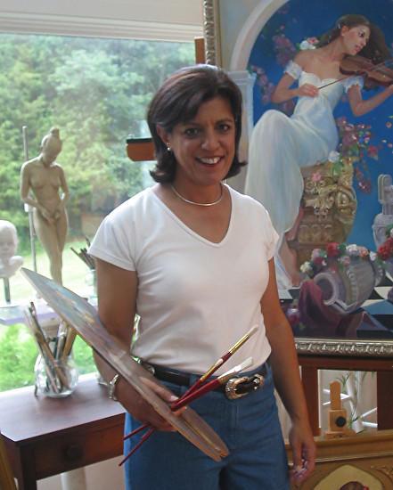 Sandra Wakeen, artist and teacher.