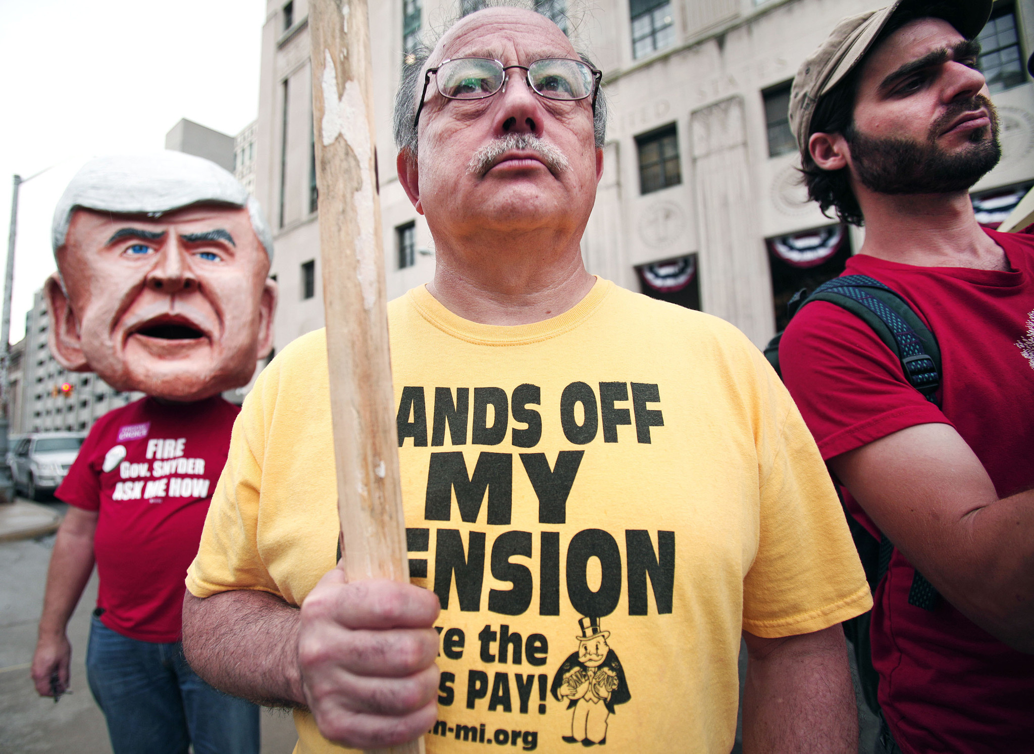 Detroit, hoping to leave bankruptcy, warns of 'downward spiral'