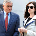 On the set: Movies and TV | Robert DeNiro and Anne Hathaway