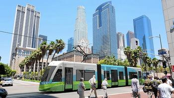 Proposed downtown L.A. streetcar line