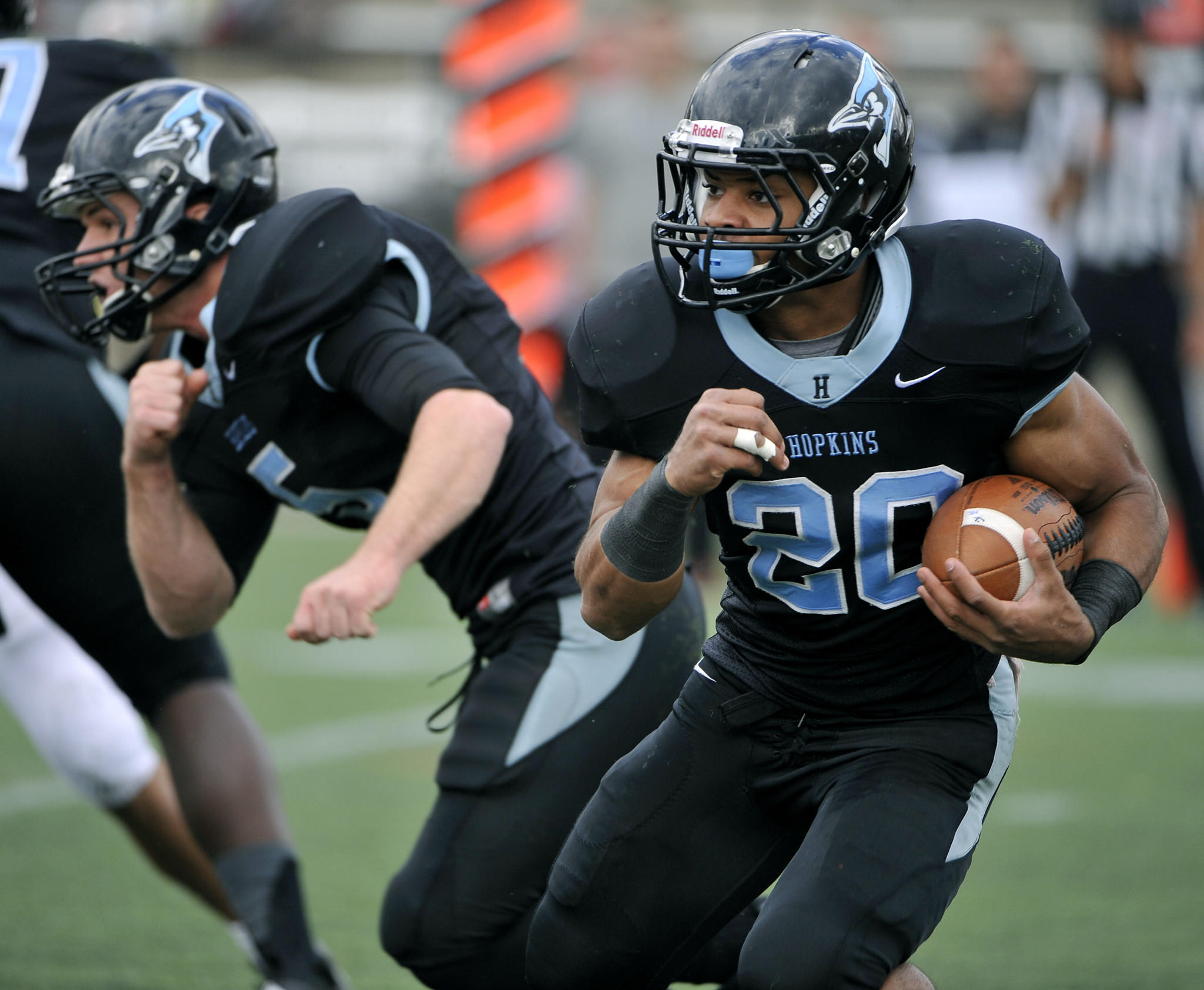 Brandon Cherry rushed for 986 yards and eight touchdowns last season for a Johns Hopkins football team that went undefeated in the regular season.