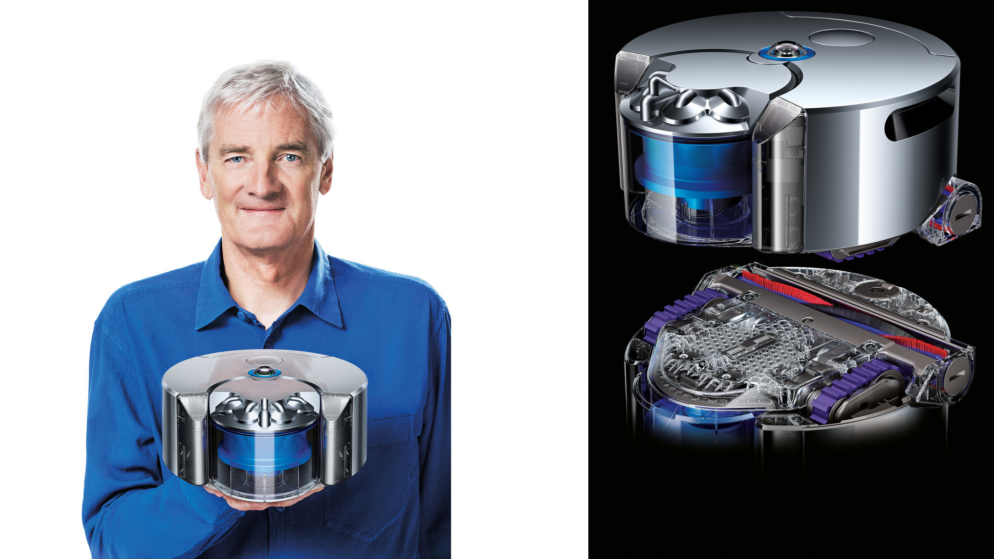 dyson unveils 39 360 eye 39 a robot vacuum cleaner chicago. Black Bedroom Furniture Sets. Home Design Ideas
