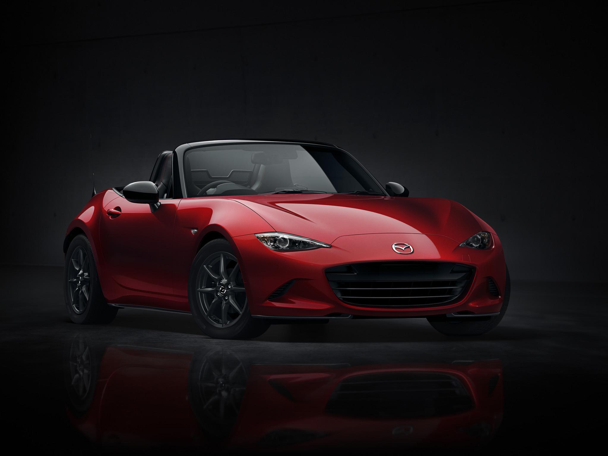 Mazda reveals newest mx 5 miata 25 years after original model la times