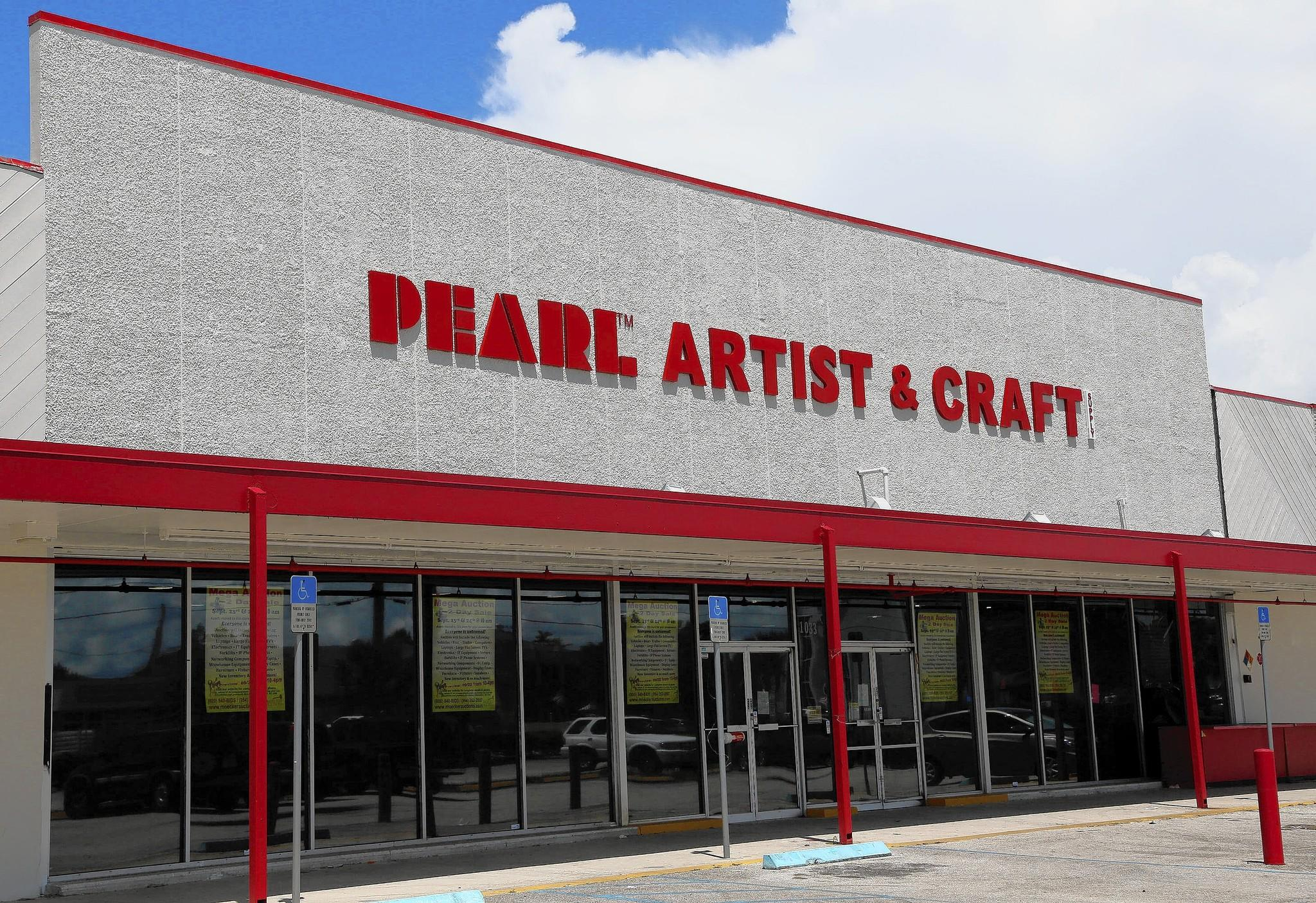 pearl artist craft supply closes fort lauderdale store