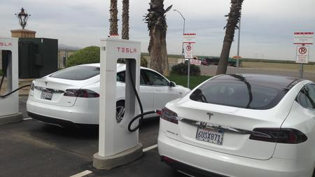 Tesla electric vehicles