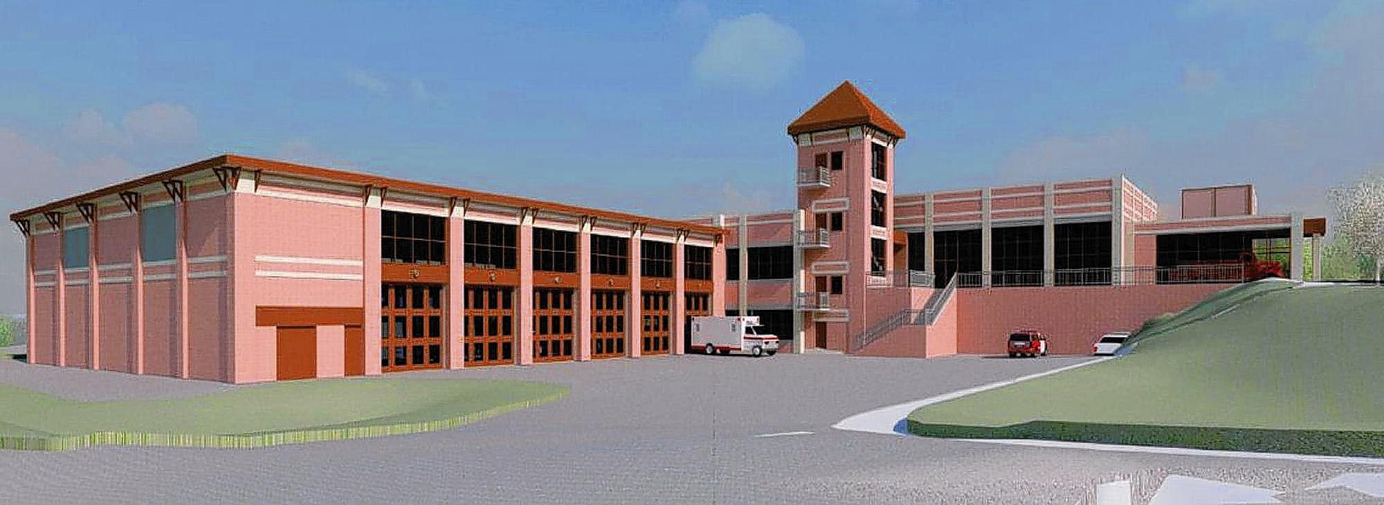 Howard County will break ground Monday for construction of the new Elkridge Fire Station.