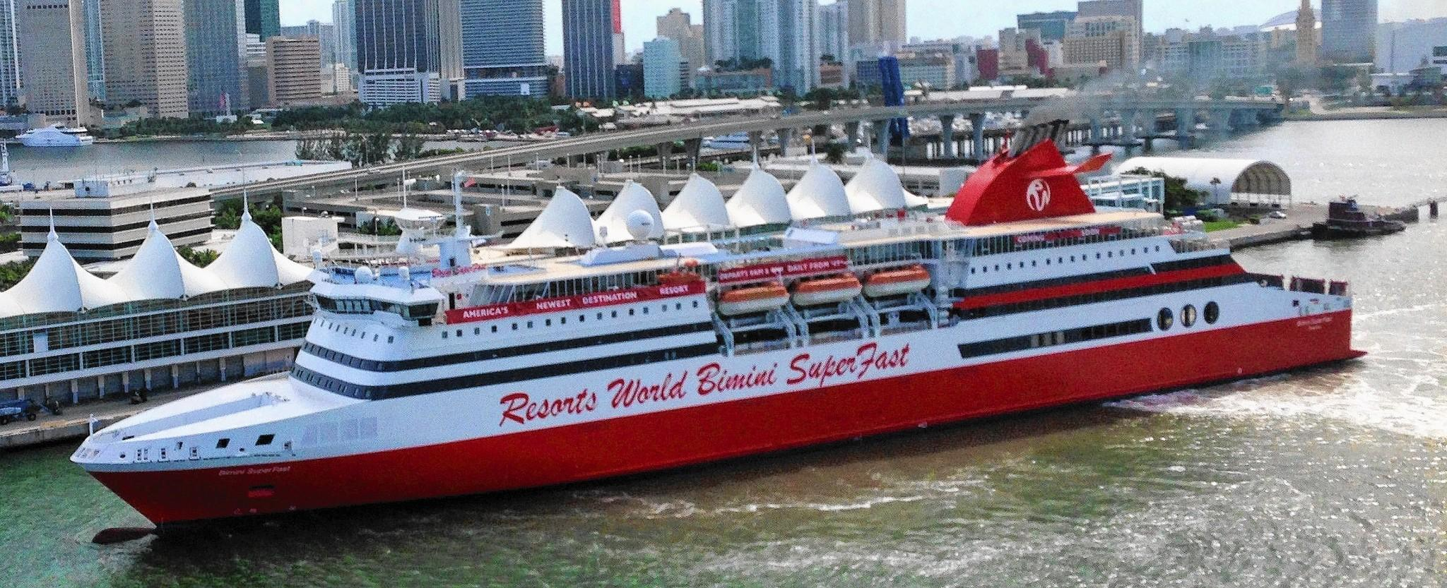 casino cruise miami bimini