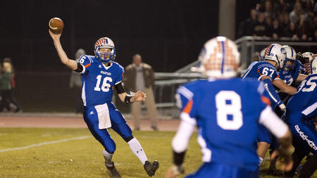 Travis Edmond of Southern Lehigh set a record with 358 yards passing in a win over Wilson.