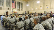Maryland troops get official welcome home