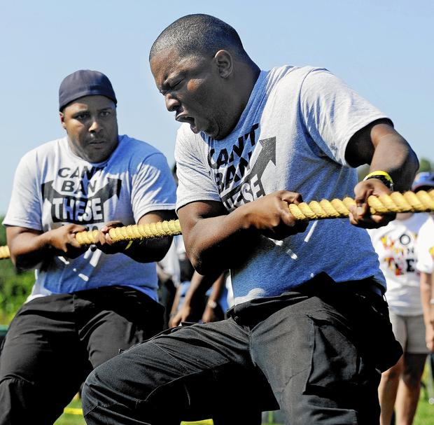 Tug Of War For Special Olympics Maryland [Pictures