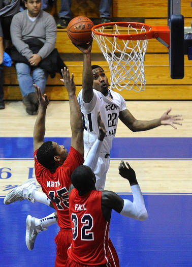 """mount saint francis senior personals College basketball's second-shortest player is also the nation's 15th-best in points per game meet 5'5"""" mount st mary's guard junior robinson."""