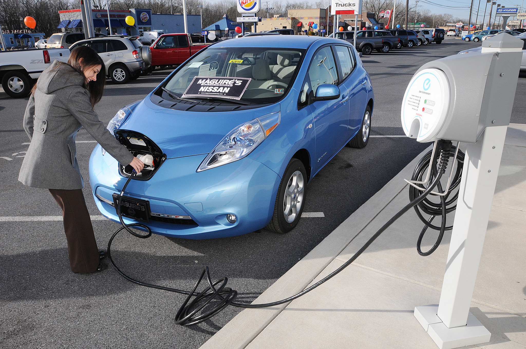 Californians Purchases Of Plug In Electric Cars Top La