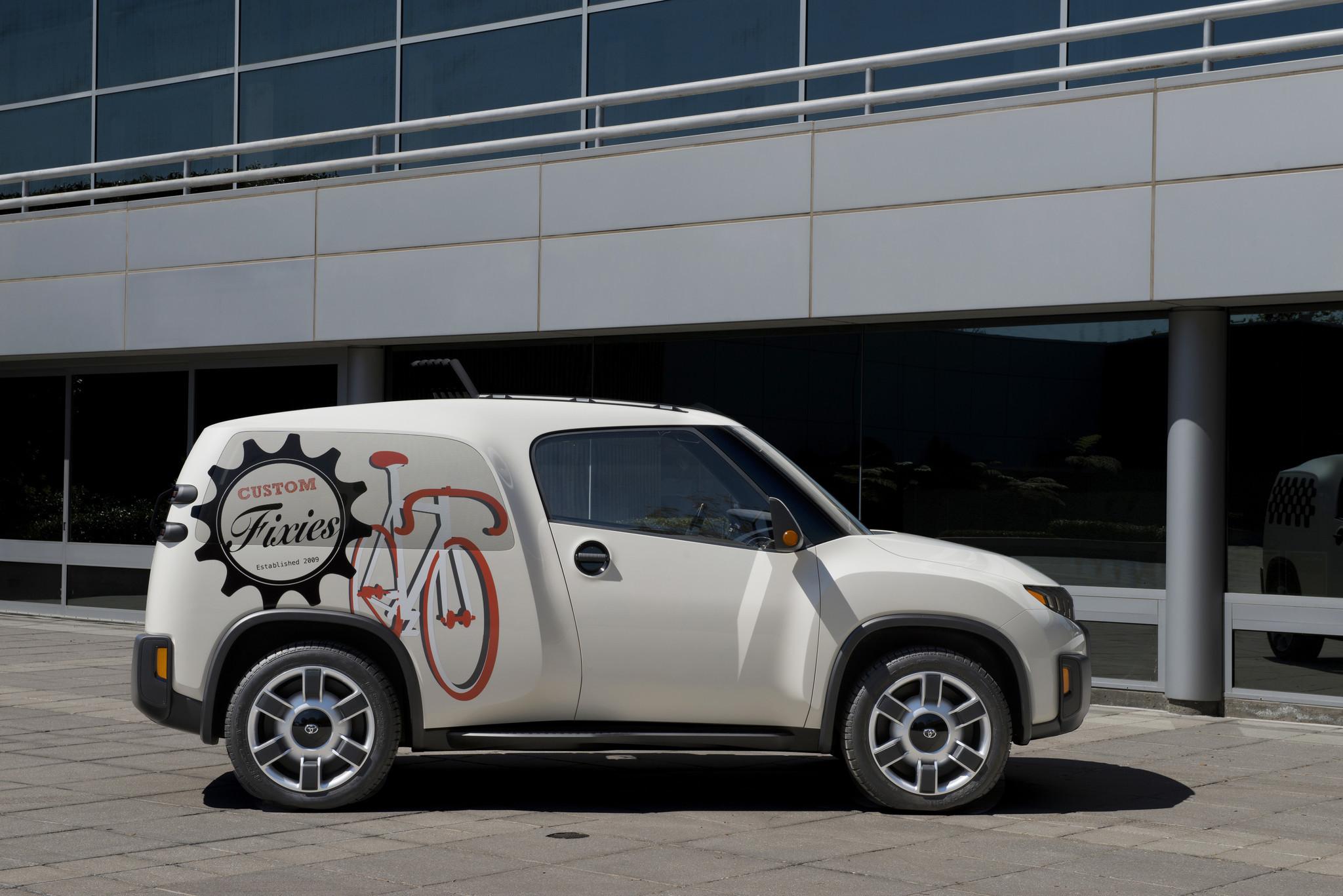 Toyota unveils urban utility concept vehicle dubbed U2